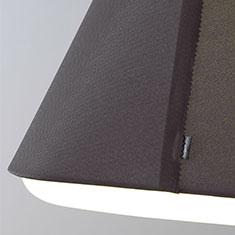 rd2Sq fabric shade dark grey close up