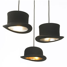 jeeves and wooster pendant light arrangement