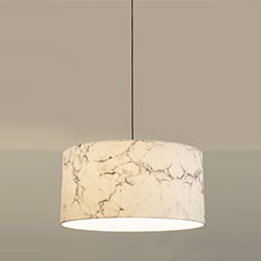 white marble pendant lamp 1