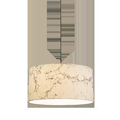 white marble pendant lamp