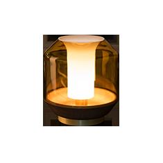lateralis table lamp cutout