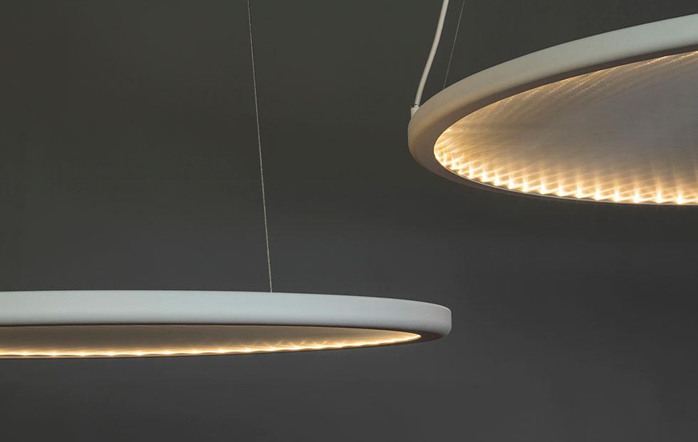 kepler halo light in white closeup