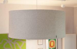 kobe wool lampshade in grey