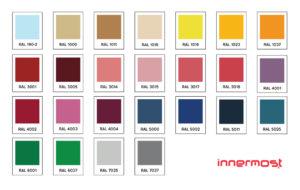 innermost custom colour range