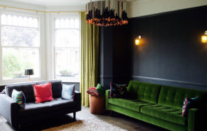 facet and joseph pendant lights in a living room in london