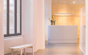 gable led at contentful offices in berlin