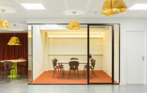 dent at the story lab offices by stone design madrid