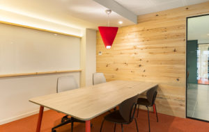 mnm at the story lab office by stone design madrid