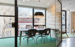 rd2sq at the story lab offices by stone design madrid