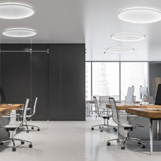 kepler halo flash mount flat office