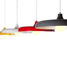portobello aluminium pendant light range