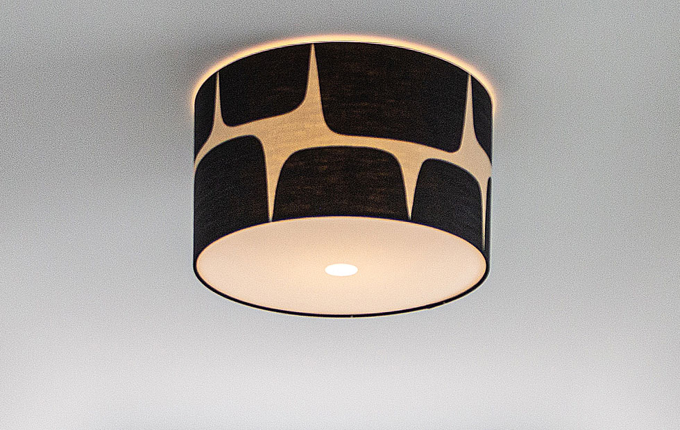 scion lohko flush ceiling light