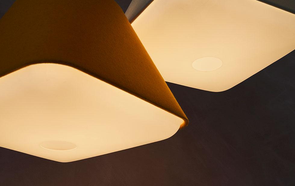 wenlock orange rd2sq pendant light