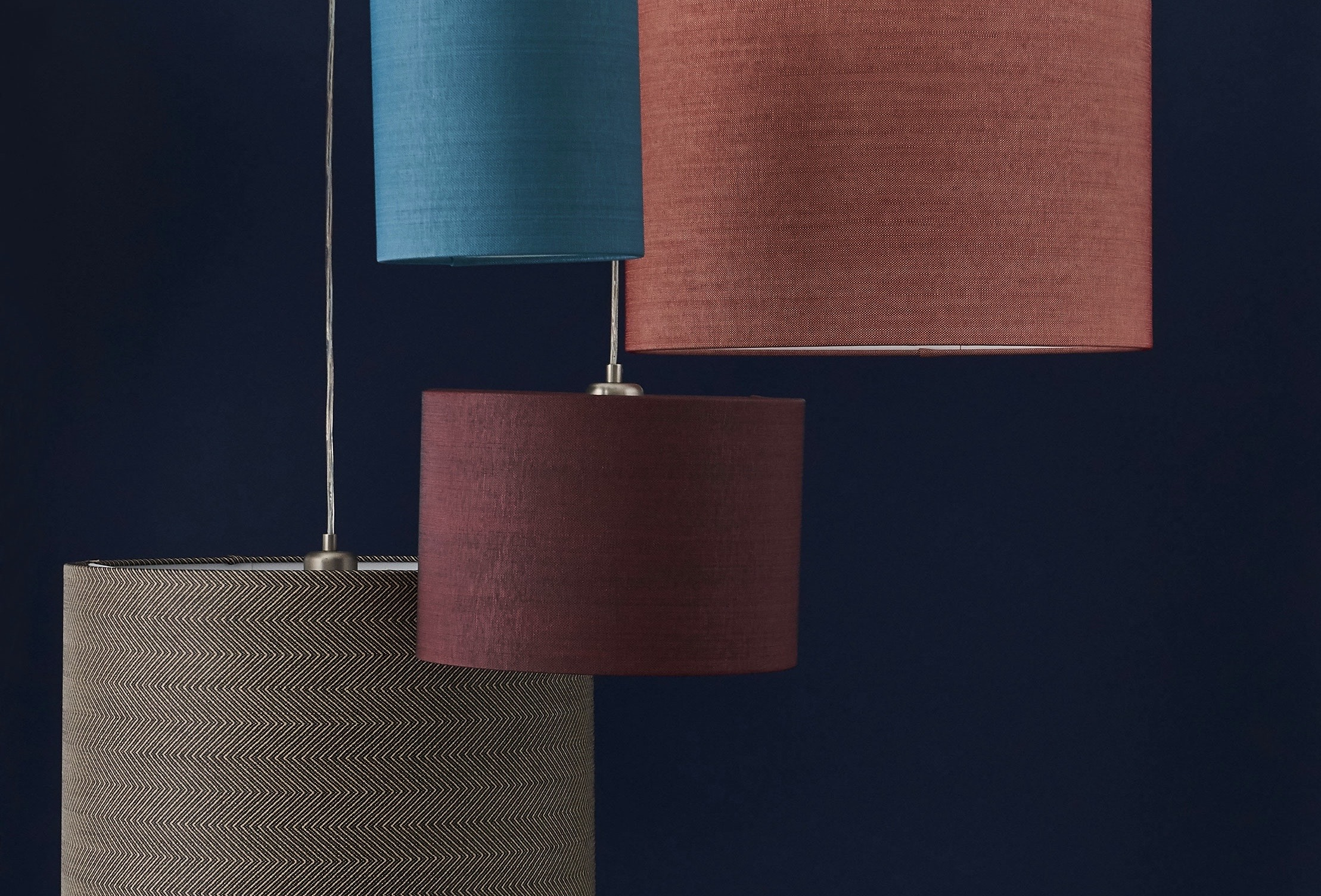 innermost bespoke fabric lampshade collection