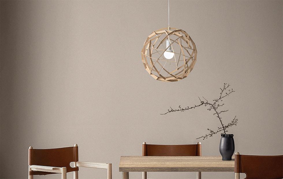 havas birch pendant light