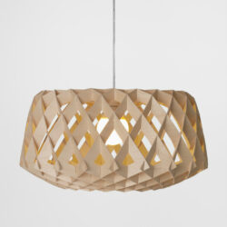 pilke 60 birch pendant light