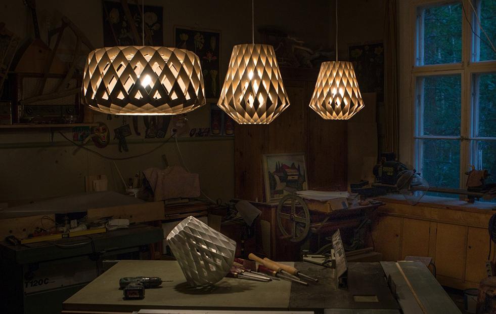pilke birch pendant light collection